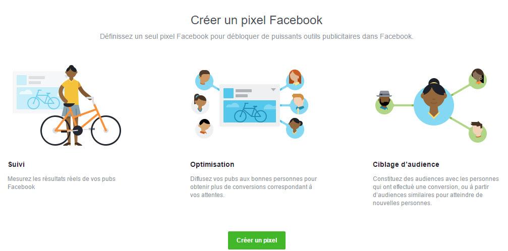 Créer un pixel Facebook