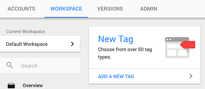 Installer le pixel Facebook avec Google Tag Manager - étape 1