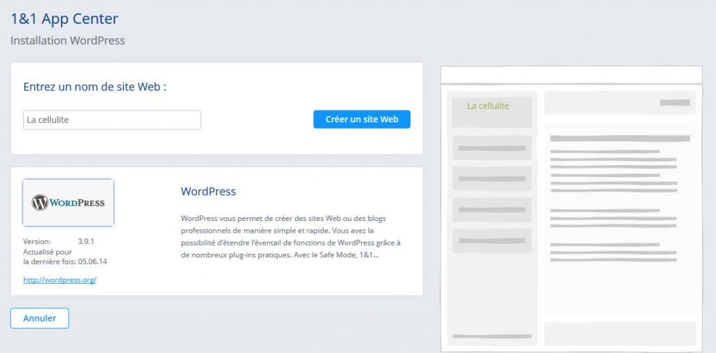 Installer WordPress en 5 minutes