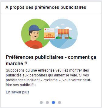 Vos préférences publicitaires - 3