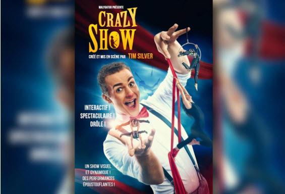 Spectacle Crazy Show à Walygator Parc