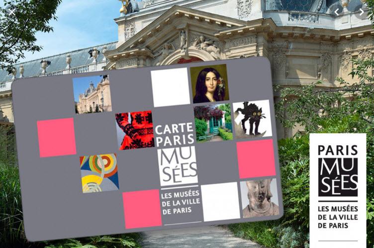 cadeau zero dechet : carte paris musées