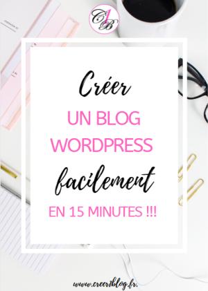 créer un blog wordpress facilement