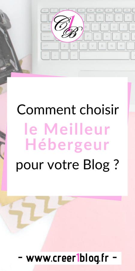 Comment choisir le meilleur hébergeur pour votre blog