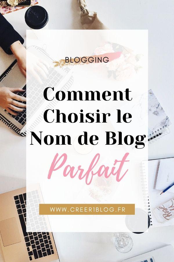 trouver le nom de blog parfait