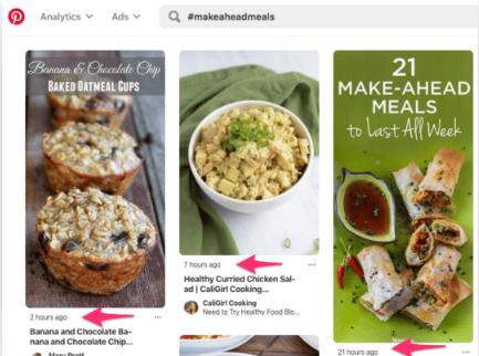 Utilisez des hashtags dans vos descriptions Pinterest