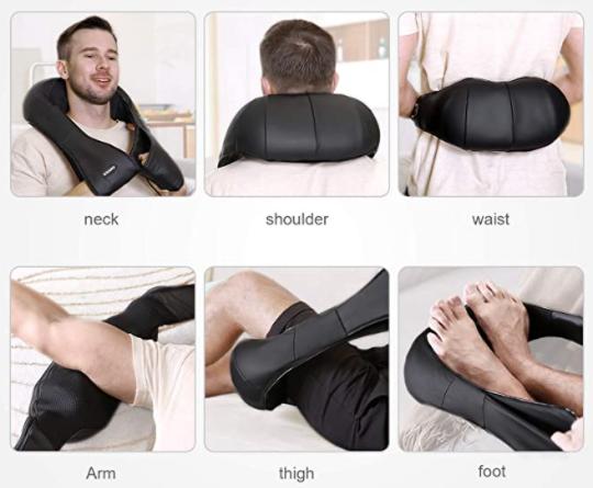 cadeau homme : masseur épaules et cou