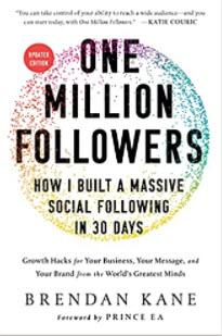 One million followers de Brendan Kane