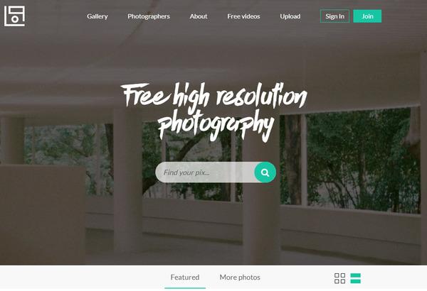 sites de photos gratuites libres de droit