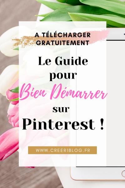 guide gratuit Pinterest